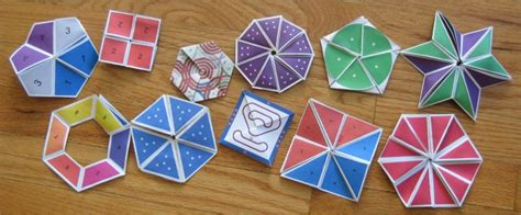 Origami Flexagon - flexagons