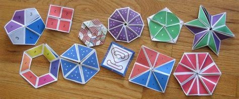 Paper Folding Puzzles - flexagons