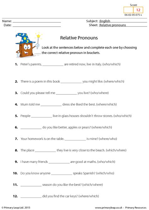 Pronoun Worksheet by 159 Free Personal Pronouns Worksheets