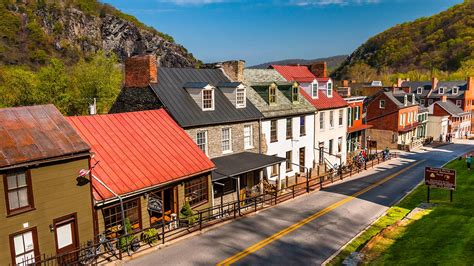 scenic town harpers ferry national park foundation