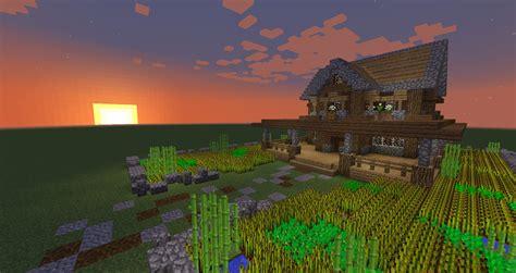 farm house minecraft how to build a minecraft farmhouse minecraft tutorial