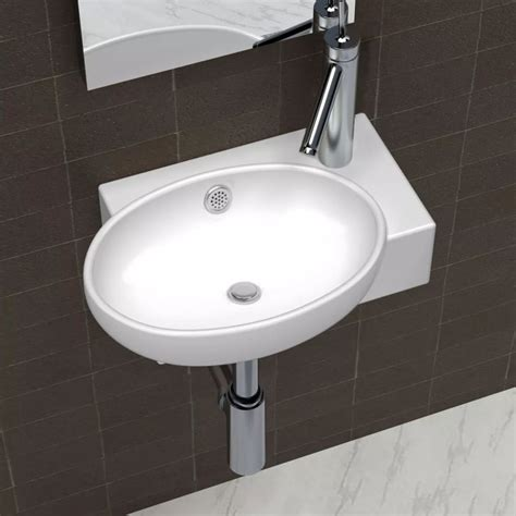 overflow hole in sink ceramic sink basin faucet overflow hole bathroom white