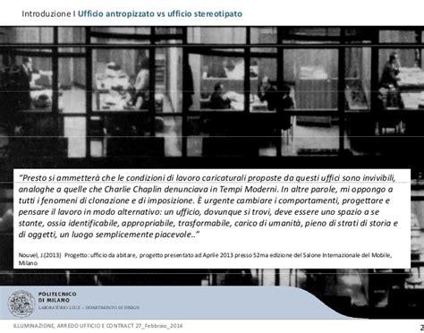 ladari linea light illuminazione a led ufficio maurizio presentazione