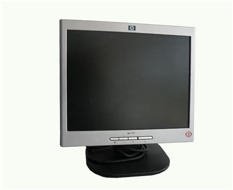 Monitor Lcd Hp elink computer centre buy hp 1502 15inch lcd monitor