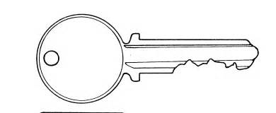 Key Outline Clip Free by Image Gallery Key Outline Clip