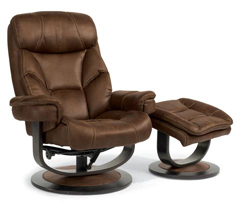 Flexsteel Chair And Ottoman Flexsteel Latitudes West 1452 Co Modern Zero Gravity Reclining Chair And Ottoman Set Dunk