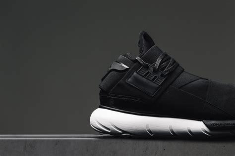 Adidas Y 3 Qasa High Blackwhite Premium High Quality 1 this timeless adidas y 3 qasa high is now available kicksonfire