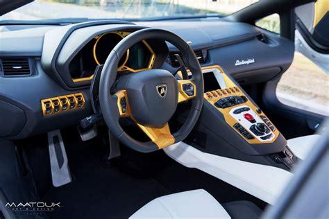Gold Plated Lamborghini Aventador Price Lamborghini Aventador Gets Gold Plated For Qatar National