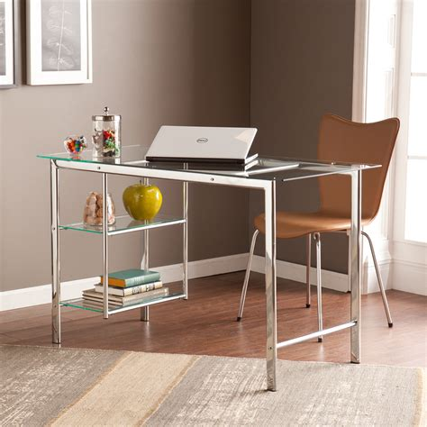 20 Contemporary Office Desk Designs Decorating Ideas Glass Home Office Desks