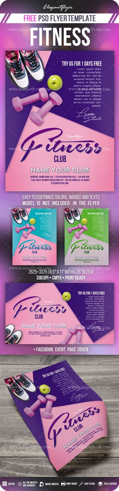 Flyer Fitness Free Templates