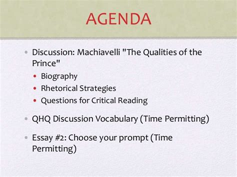 Machiavelli The Prince Essay by 10 Tips For Writing The Machiavelli The Prince Essay