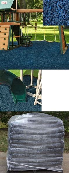swing set rubber mulch wood mulch can be used underneath swing sets materials