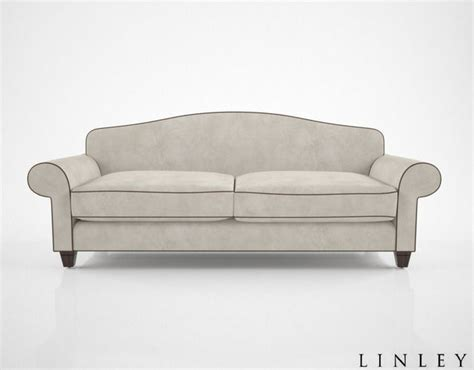 andrea couch linley andrea sofa 3d model cgtrader