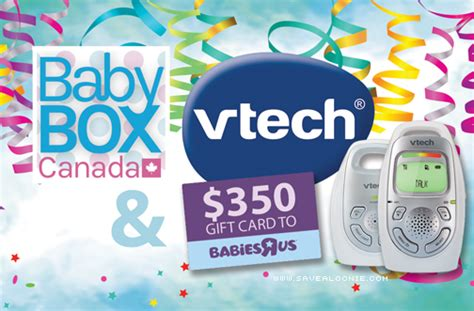 Free Baby Giveaways Canada - baby box canada vtech giveaway
