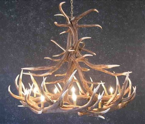 How To Make A Deer Horn Chandelier How To Make Antler Chandelier