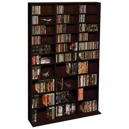 elite multimedia storage cabinet atlantic oskar 1 080 cd multimedia shelf storage cabinet