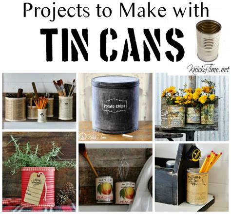 diy crafts with tin cans tin can wall organizer knick of time
