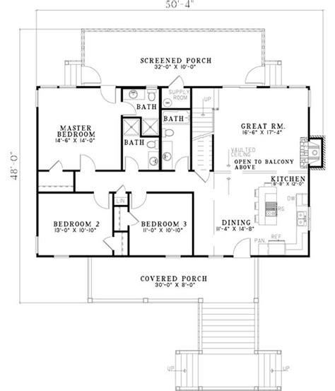 Bungalow Style House Plans 1970 Square Foot Home 2 1970s 2 Story House Plans