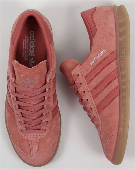 Adidas Berlin Shoes Pink by Adidas Hamburg Trainers Pink Originals Shoes Mens Sneakers