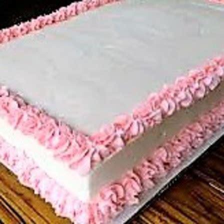 Plain Decorated Cake   Rectangle   Cake & Bake Kiwi