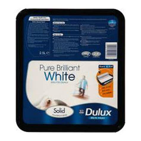 Dulux Pentalite Brillian White 2 5 Lt dulux solid matt 2 5l brilliant white