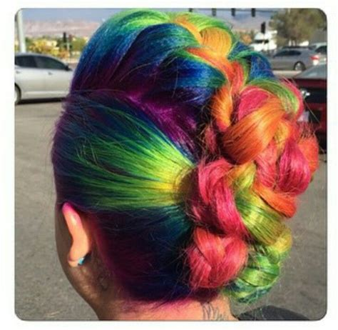 plastic rainbow hairthings 200 best images about rainbow hair collection on pinterest