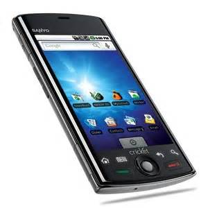 Cricket sanyo zio by kyocera android smartphone itech news net