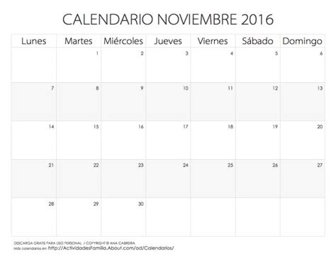 Calendario P 2016 Calendarios 2016 Para Imprimir Sencillo