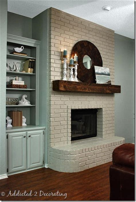what color should i paint my brick fireplace how to paint a brick fireplace