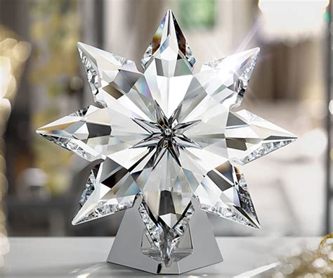 swarovski celebrates with 2013 christmas star and