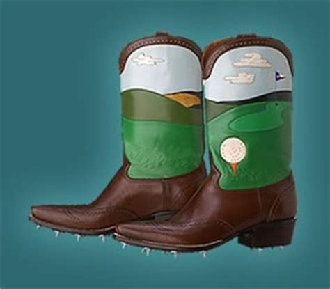 cowboy golf shoes boots