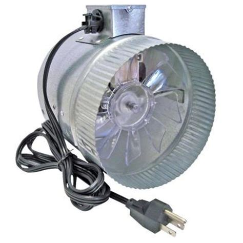 suncourt corded 6 in in line duct fan db206 crd the