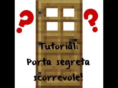 come creare una porta scorrevole come creare una porta segreta scorrevole su
