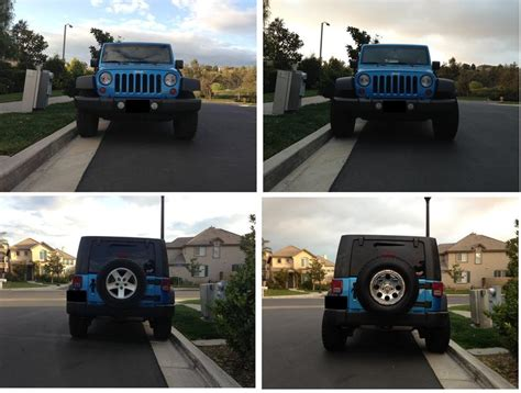 Jeep Jk Wheel Spacers Before And After Before And After 2 Inch Wheel Spacers Motorcycle Review