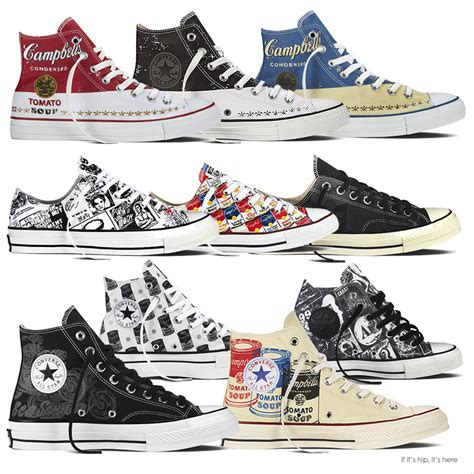Sepatu Converse Andy Warhol the converse chuck all andy warhol collection