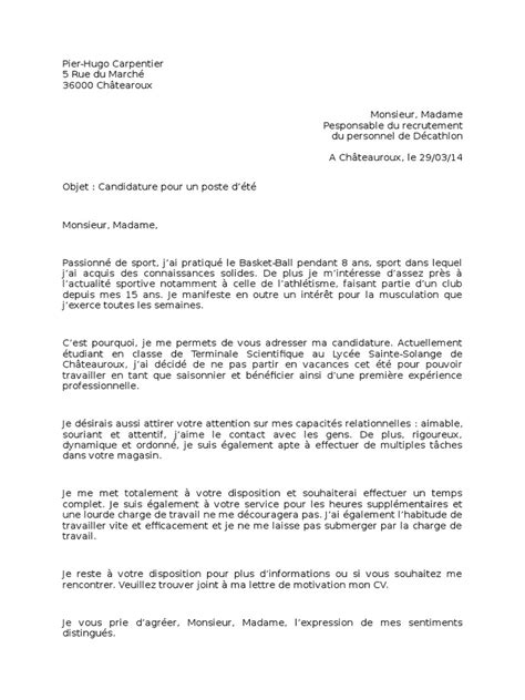 Lettre De Motivation Duty Free Simple Resume Format Sle Pdf Resume Format For Airlines Ideal Resumes Exles A Sle