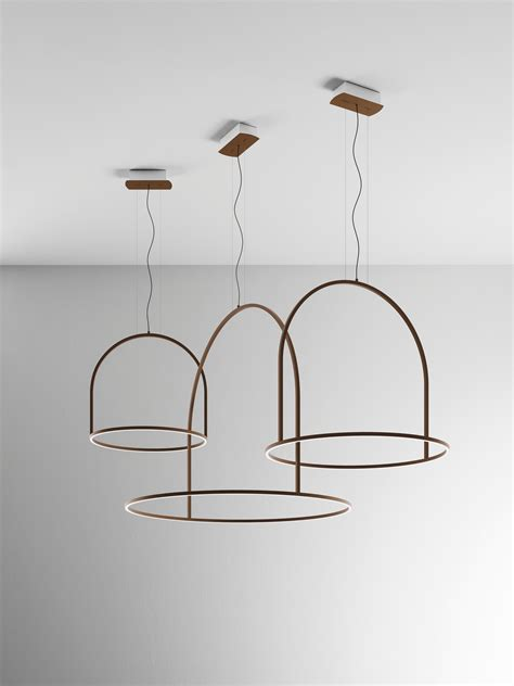 light illuminazione u light by timo ripatti for axo light rings of light in space