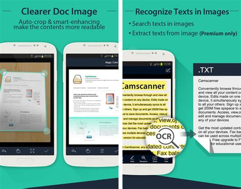 scan app for android turn your android phone into a portable scanner with camscanner app