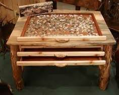 jigsaw puzzle table with drawers plans 1000 images about coffee table diy on record