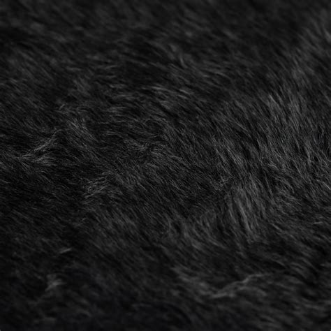 discover direct short pile faux fur fabric charcoal grey