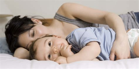 in bed with mom the importance of sleep huffpost