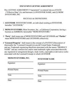 sample license agreement template 9 free documents in