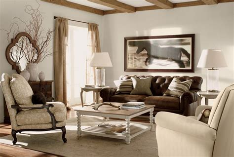 ethan allen living room sets ethan allen neutral living room shop by room ethan