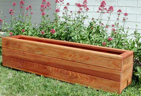 planter design the mendocino planters built to last decades forever