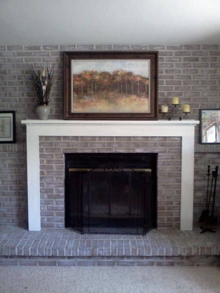 picture of fireplace designs with brick interior paint colors with grey brick before and after