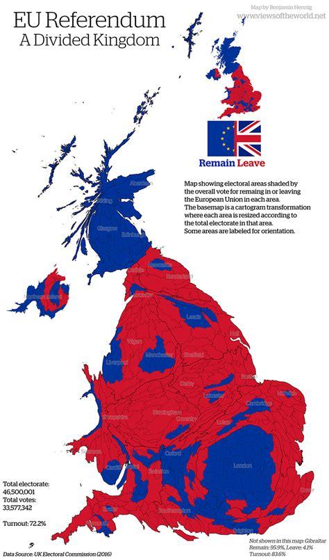 map uk eu referendum the eu referendum views of the world