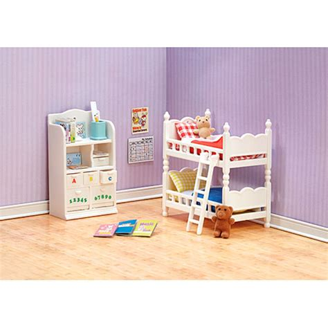 The Critter Room Live by Calico Critters Children S Bedroom Set Cc2441