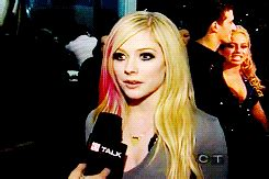If I See Avril Finger The Paparazzi One More Time by Avril Lavigne Gif Find On Giphy