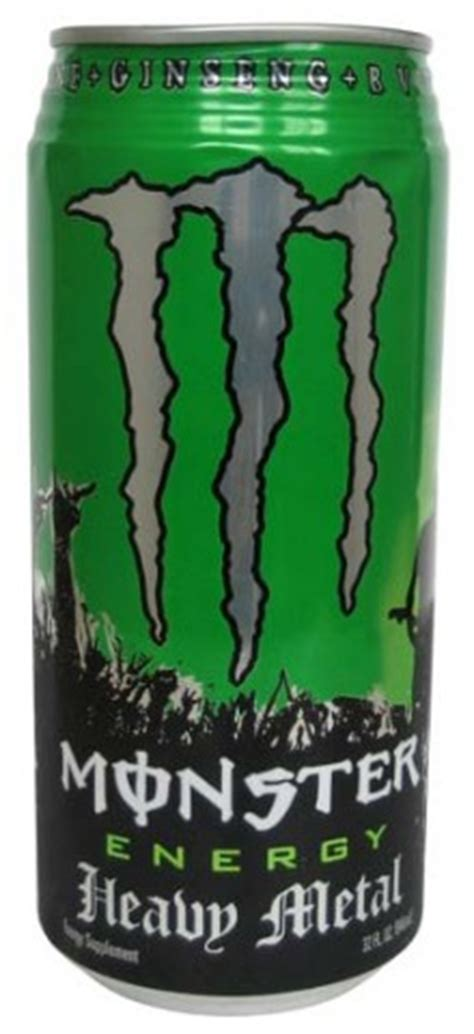 energy drink withdrawal energy heavy metal caffeinated
