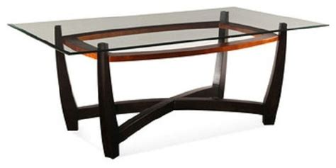 Traditional Glass Dining Table Bassett Mirror Elation Rectangular Glass Top Dining Table D1078 600 Traditional Dining